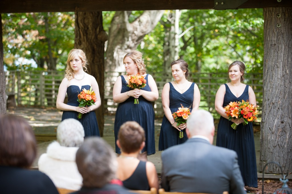 Variety and Visual Interest in Bridesmaid Attire for Milwaukee Brides