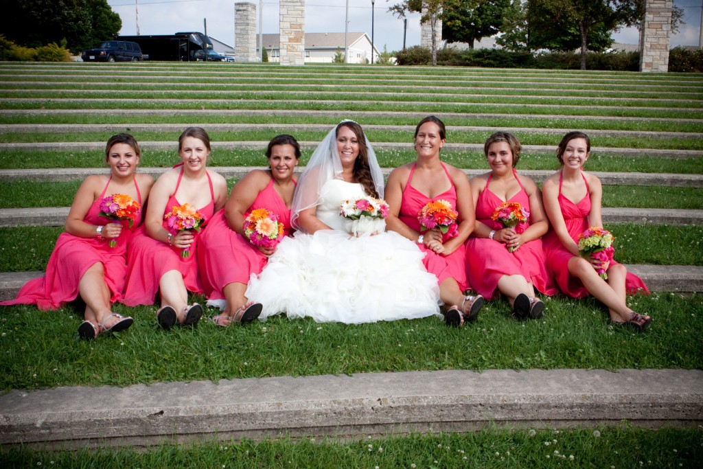 Milwaukee WI area bridesmaids