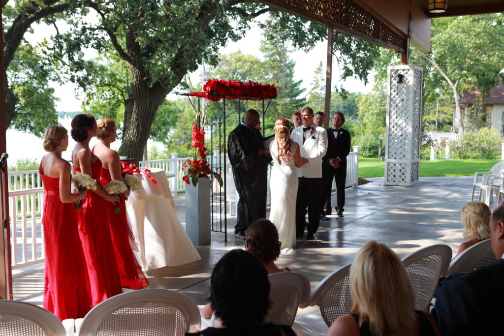 Outdoor Wedding at Seven Seas