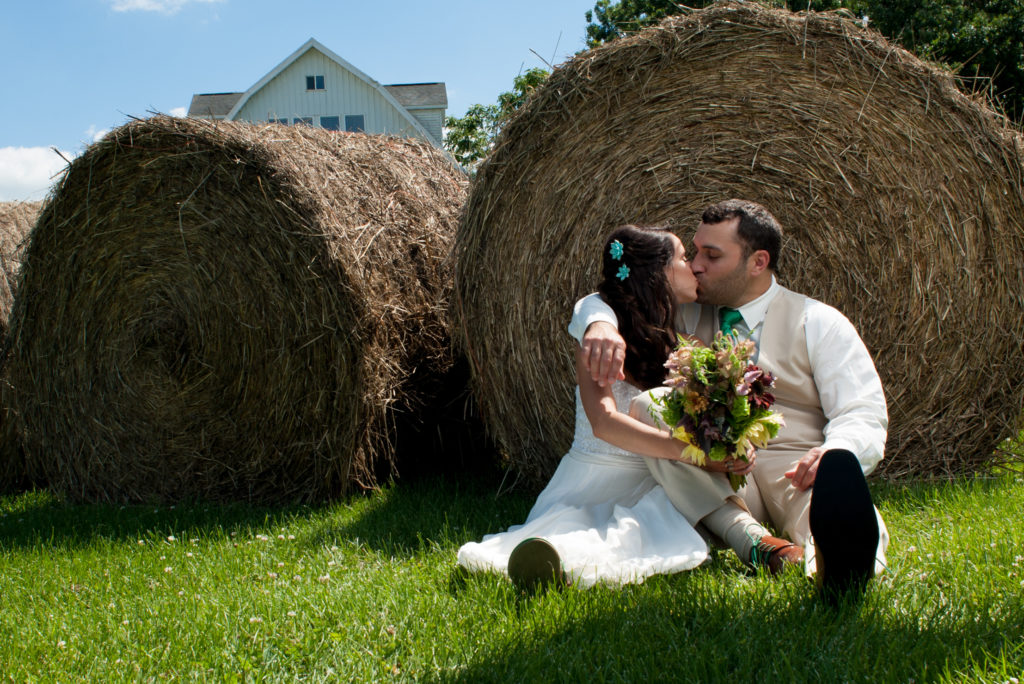 Barn Wedding at Badger Farm
